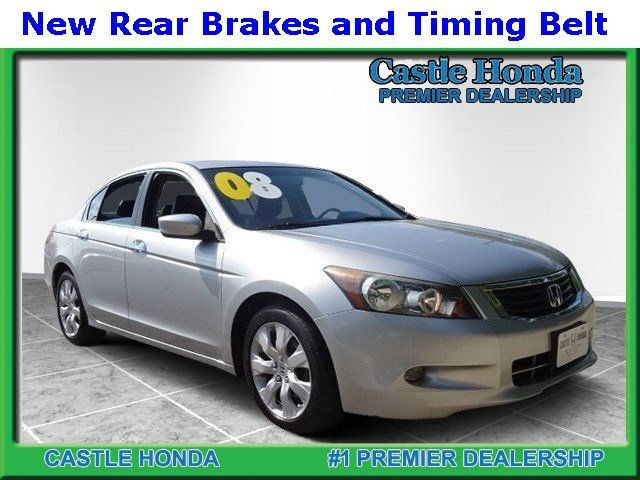 Pre-Owned 2008 Honda Accord Sdn EXL V6