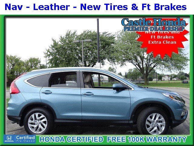 Certified Pre-Owned 2016 Honda CR-V EX-L NAVI