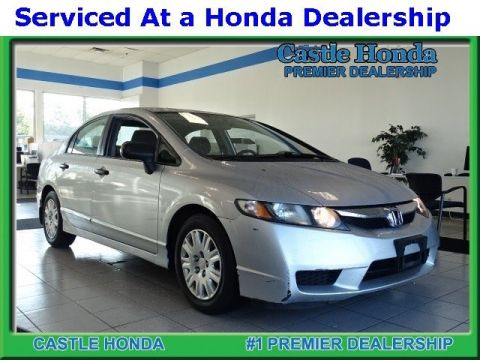 Pre-Owned 2010 Honda Civic Sdn VP