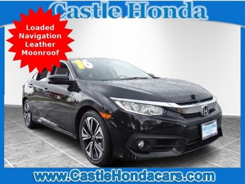 Pre-Owned 2016 Honda Civic Sedan EX-L Navi