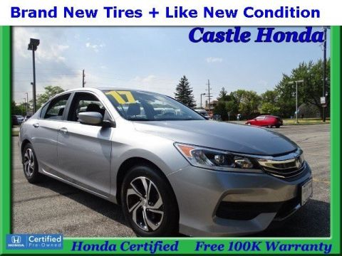 Certified Pre-Owned 2017 Honda Accord Sedan LX FWD 4dr Car