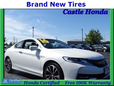 Certified Pre-Owned 2016 Honda Accord Coupe EX FWD 2dr Car