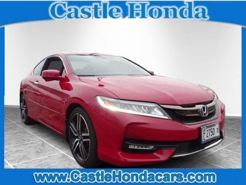 Pre-Owned 2016 Honda Accord Coupe Touring 3.5T