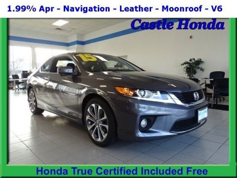 Certified Pre-Owned 2015 Honda Accord Coupe EX-L 3.5T