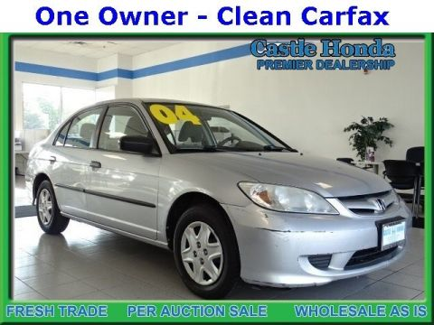 Pre-Owned 2004 Honda Civic VP FWD 4dr Car
