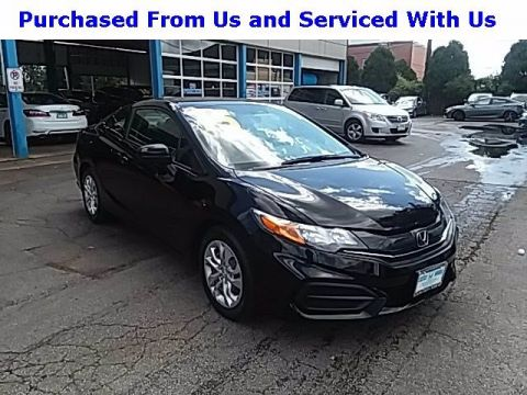 Certified Pre-Owned 2015 Honda Civic Coupe LX FWD 2dr Car