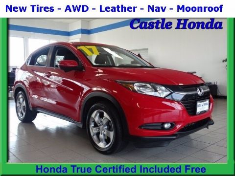 Certified Pre-Owned 2017 Honda HR-V EX-L With Navigation & AWD