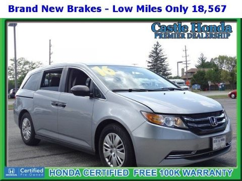 Certified Pre-Owned 2016 Honda Odyssey LX