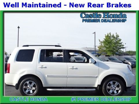 Pre-Owned 2011 Honda Pilot Touring With Navigation & 4WD