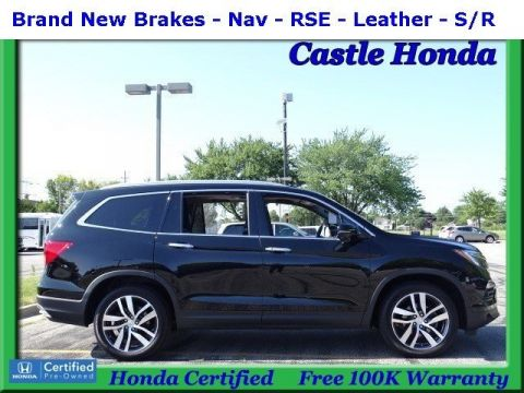 Certified Pre-Owned 2017 Honda Pilot Touring With Navigation & AWD