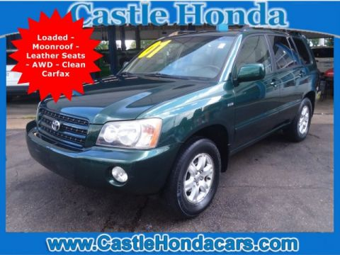 Pre-Owned 2001 Toyota Highlander 4DR 4WD V6 AT
